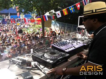 Norman Jay MBE - Notting Hill Carnival 2013 ARIS DESIGN