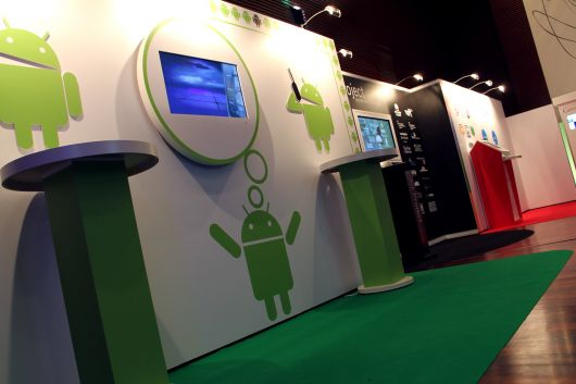 Google Exhibition Stand Design
