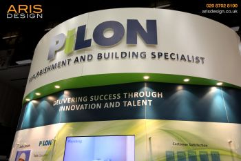 Pilon custom stand CIH SouthEast