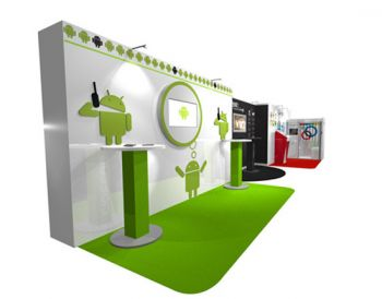 Google LVMH :: Exhibition Stand. Aris Exhibition Stand Designers - exhibition design, exhibition designer, exhibition stand design, exhibition stand designers, exhibition contractor, exhibition contractors, London. United Kingdom