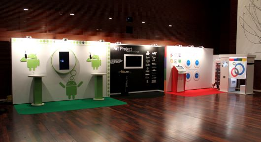 Modular Exhibition Stands Uk : Aris design google exhibition stand project