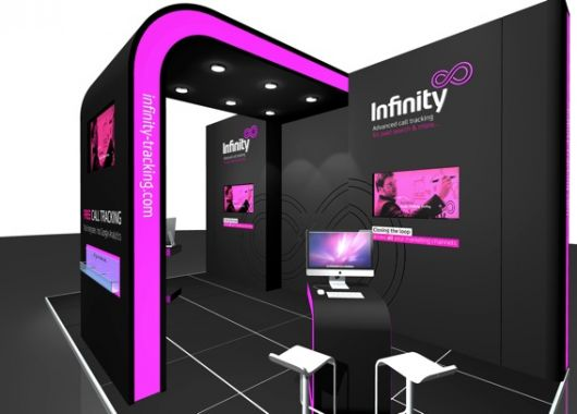 Infinity :: Exhibition Stand. Aris Exhibition Stand Designers - exhibition design, exhibition designer, exhibition stand design, exhibition stand designers, exhibition contractor, exhibition contractors, London. United Kingdom
