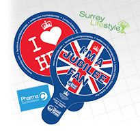 Queens Diamond Jubilee Hand Fan Designs