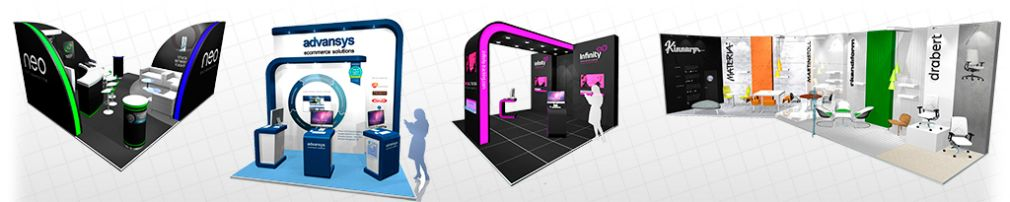 Aris Design Exhibition stands header